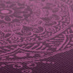 tapete yoga estampado mandala ameixa roxa pvc 4.5mm 8