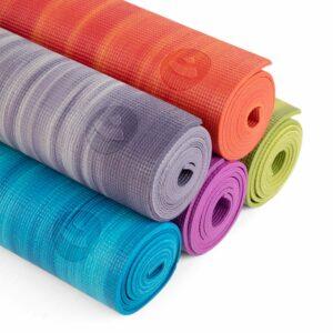 Tapete de yoga estampado Leela Mandala Design - 4.5mm PVC ecológico 10