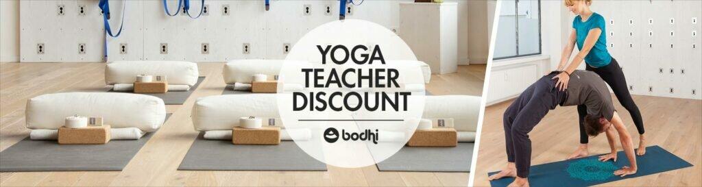 Desconto para Professores de Yoga 1