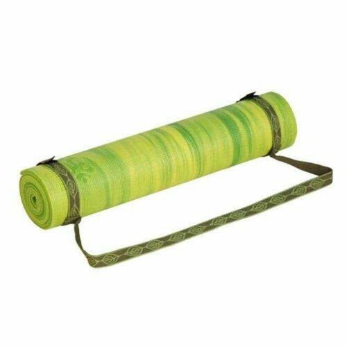 Alça Strap velcro para tapete de yoga verde