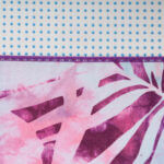 Toalha de Yoga Antiderrapante Art Collection tribal folha do artico 4