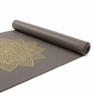 Tapete de yoga estampado Leela Mandala Design - 4.5mm PVC ecológico 11