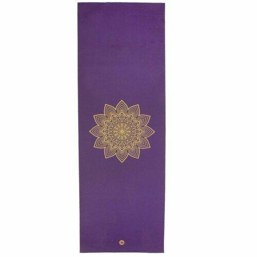 Tapete de yoga estampado Rishikesh Mandala - 4.5mm PVC premium ecológico