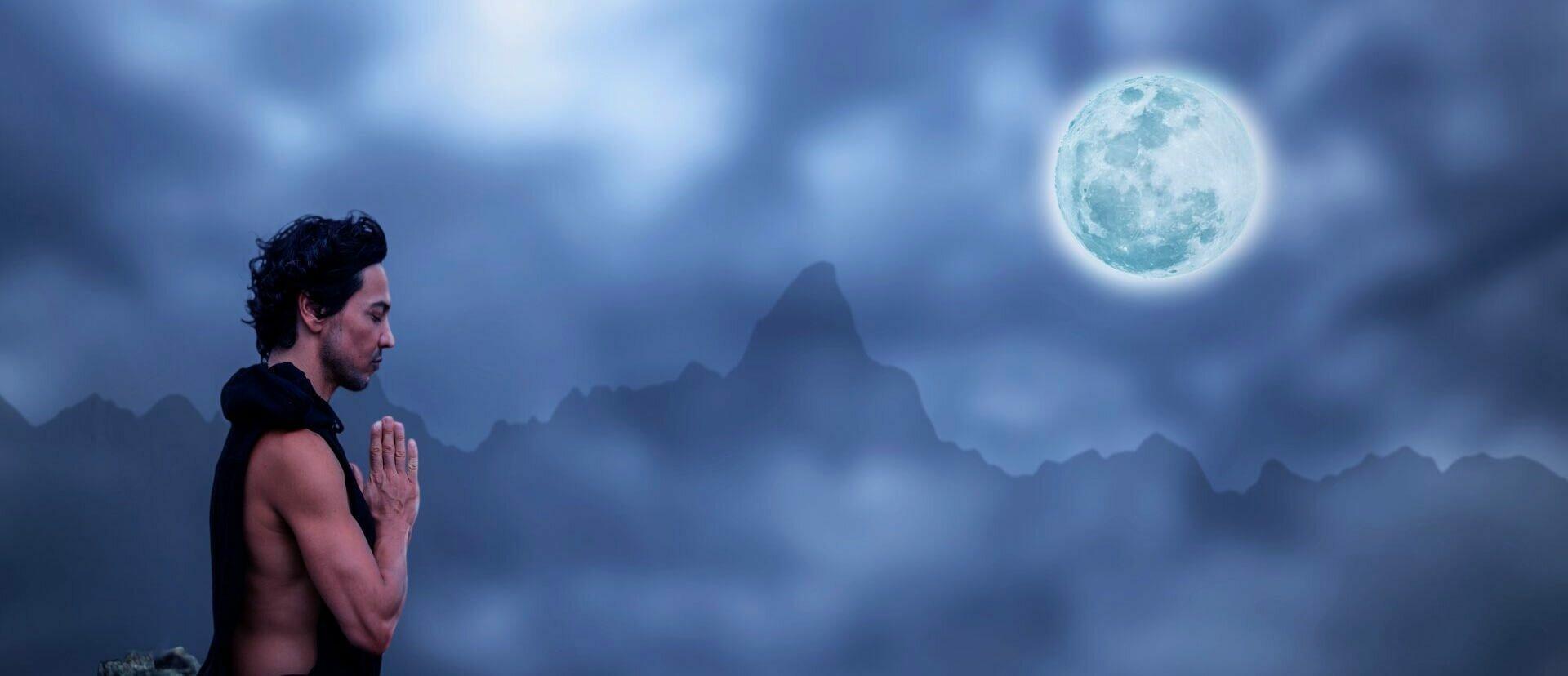 Meditação da Lua Cheia leblon yogateria arte de viver