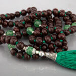 Japamala Rosewood e Ônix Verde