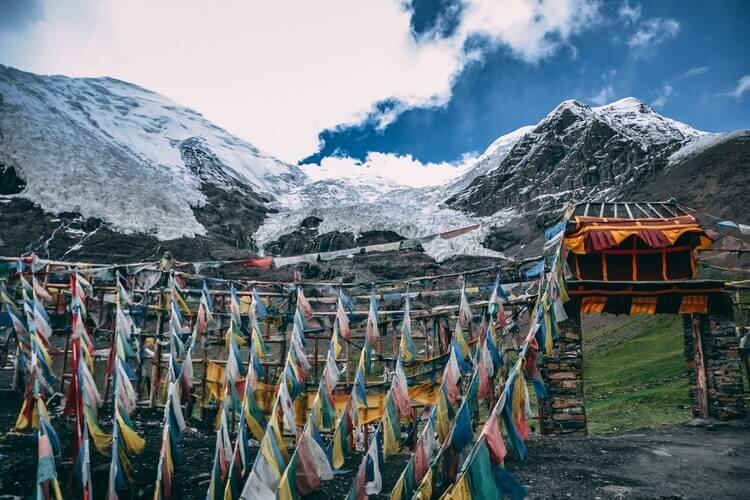montanha- tibet