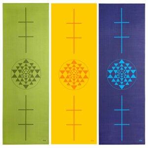 Tapete de yoga estampado Leela Yantra – 4.5mm PVC ecológico 15