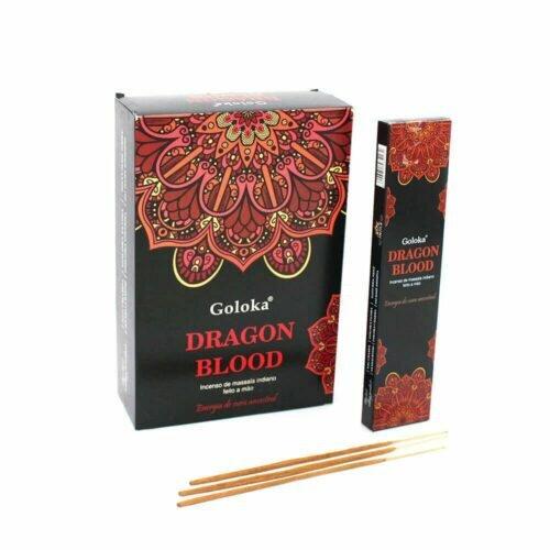 Incenso Massala Dragon Blood Goloka