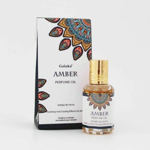 Perfume Indiano Âmbar Goloka