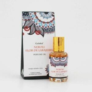 Perfume Indiano Flor de Laranjeira Goloka 10