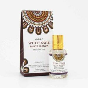 Perfume Indiano Sálvia Branca Goloka 25