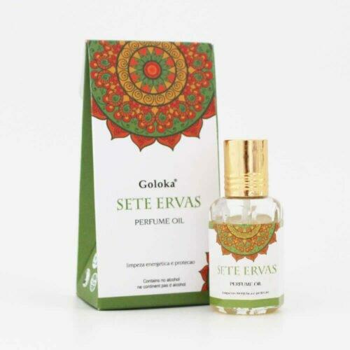 Perfume Indiano Sete Ervas Goloka