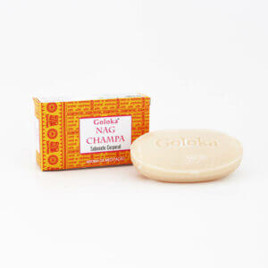 Sabonete Natural Nag Champa Goloka 2