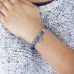 Pulseira Mala Jaspe Azul