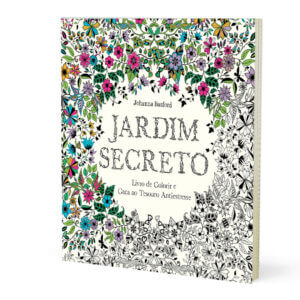 Livro - Jardim Secreto - Para colorir e antiestresse 16