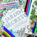 Livro - Jardim Secreto - Para colorir e antiestresse