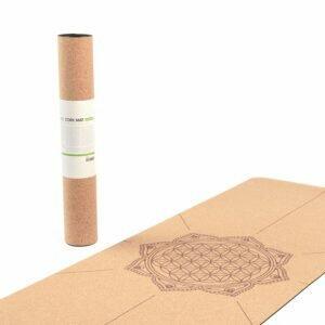 Tapete de yoga estampado Leela Mandala Design - 4.5mm PVC ecológico 9