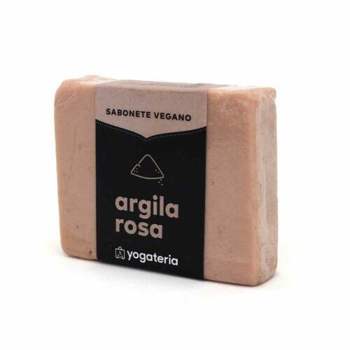 Sabonete Vegano Argila Rosa