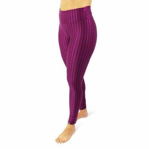 Calça Legging com Textura Ganga