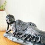 Estátua Buddha Deitado - Grande