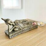 Estátua Buddha Deitado - Médio