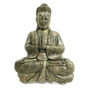 Estátua Buddha Oração - Namaskara Mudra 12