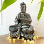 Estátua Buddha Oração - Namaskara Mudra