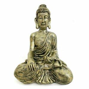 Estátua Buddha da Medicina - Bronze 14