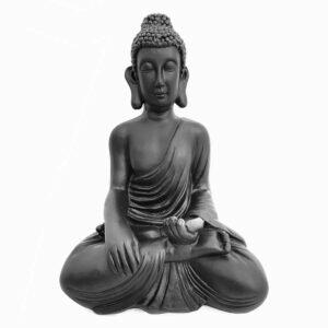 Estátua Buddha Tocando a Terra - Bhumisparsha Mudra 10