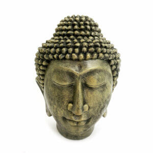 Estátua Cabeça de Buddha 9