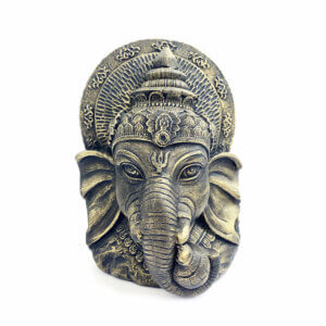 Estátua Cabeça de Ganesha 13
