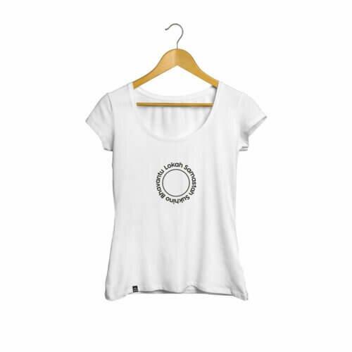 Camiseta Lokah Samastah Sukhino Bhavantu