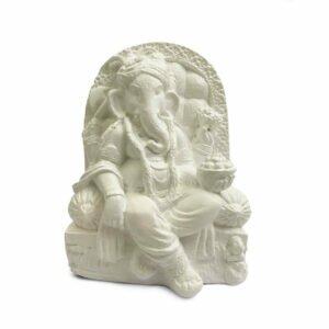 Estátua Ganesha no Trono 4
