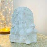 Estátua Ganesha no Trono