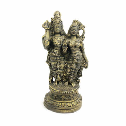 Estátua Shiva e Parvati