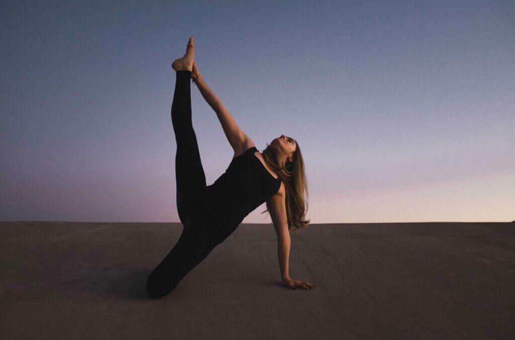 Flexibilidade das pernas
