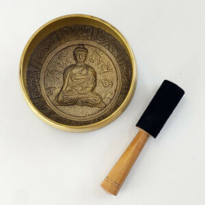 Sino Tibetano Mantra - Tigela 8cm 7