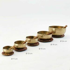 Sino Tibetano Mantra - Tigela 8cm 1